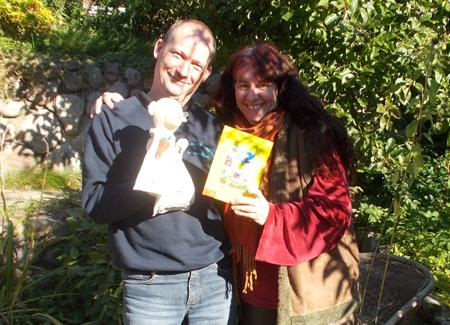 Marmeladiger Nachmittag mit Deichschaf Bertha im Haus Peters in Tetenbüll