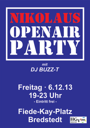 Nikolaus OpenAir Party in Bredstedt