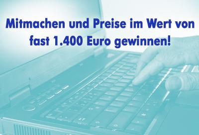 Regionale Online-Werbung lohnt sich! Mitmachen, Preise im Wert von rund 1400 Euro zu gewinnen!