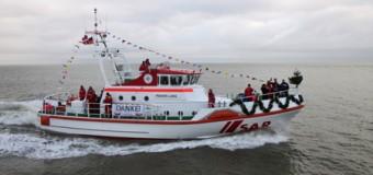 Seenotkreuzer auf Sylt auf den Namen PIDDER LÜNG getauft
