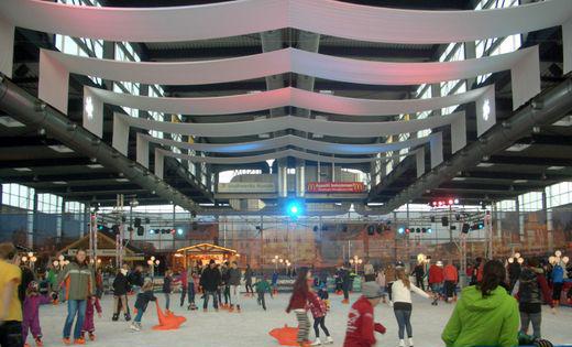 Fotos der Eiszeit in Husum und vom Weihnachtsmarkt