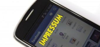 Facebook nervt! Schon wieder ist die Anzeige eines Impressums auf mobilen Geräten nicht möglich