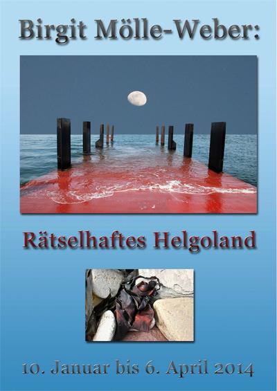 Rätselhaftes Helgoland im Bio-Hotel Miramar in Tönning – Fotoausstellung