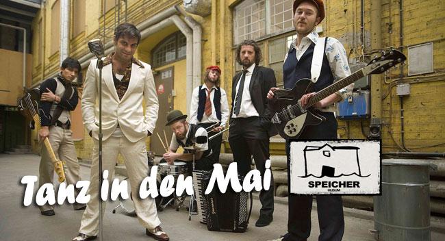 Feiern im Speicher Husum – Tanz in den Mai mit Faela & DJs