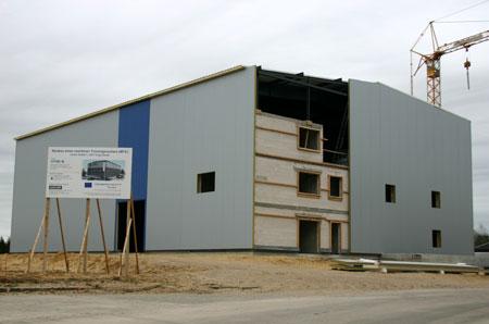 Enge-Sande – OffTEC feiert Richtfest des Maritimen Trainings-Centrums