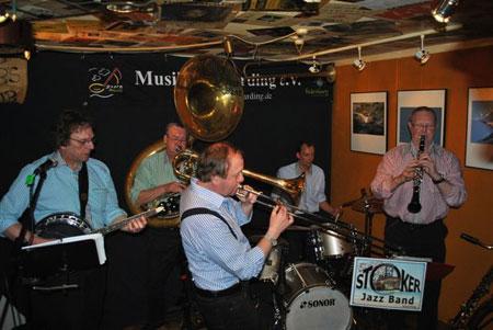 Heiße Musik im Lütt Matten Garding – Die Stoker Jazz Band
