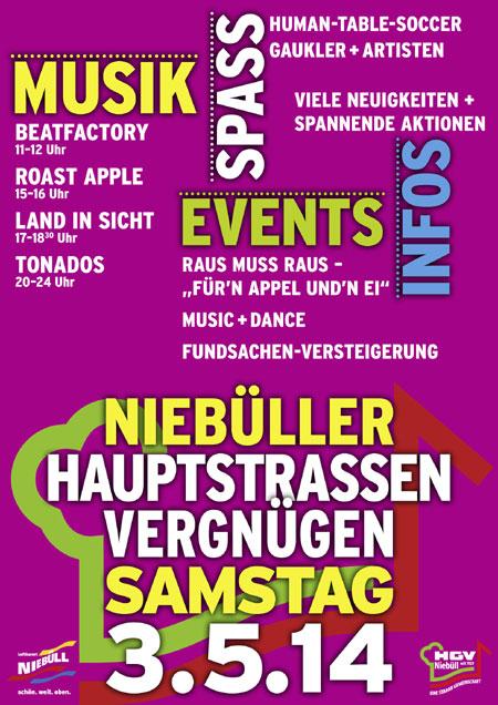 Am Wochenende voll was los in Niebüll: Hauptstraßenvergnügen, Stadtwerkelauf und Riesen-Flohmarkt