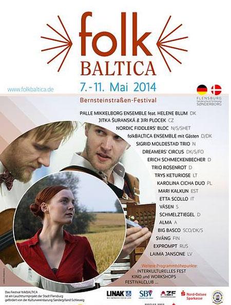 folkBALTICA 2014 – zu Gast in Nordfriesland – Husum, Breklum und Neukirchen