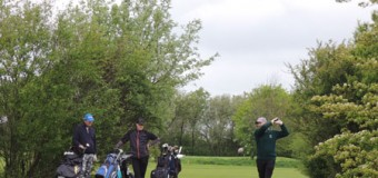 Golfer beim Mercedes-Benz-Clubturnier in bester Spiellaune
