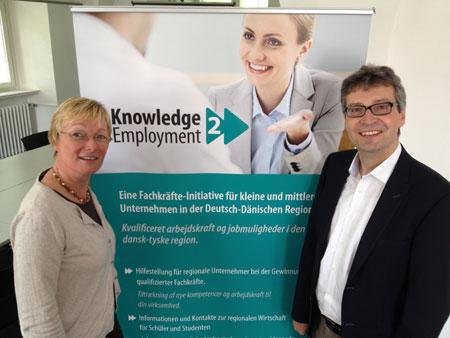 """INTERREG 4A-Projekts """"Knowledge 2 Employment"""" – Qualifizierte Mitarbeiter finden und halten"""