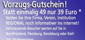 Klasse Aktion! Nutzen Sie jetzt die NO-Magazine für ihre regionale Werbung! In Nordfriesland, Flensburg, Rendsburg oder Kiel
