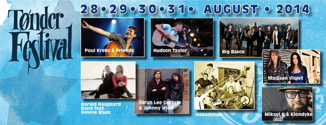 Tønder Festival 2014 – Weitere Highlights zum Jubiläumsfestival