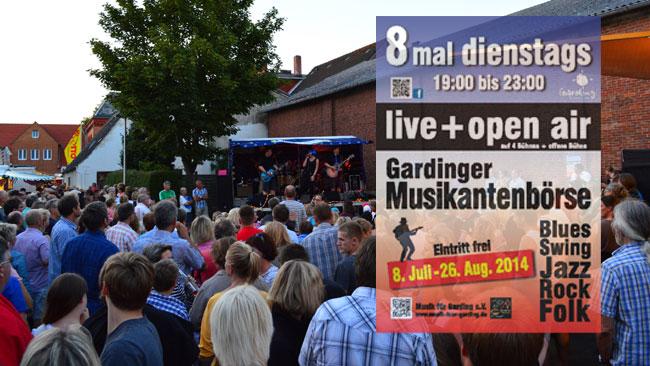 Garding singt, swingt und rockt wieder – Die Musikantenbörse 2014