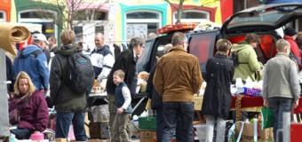 Flohmarkt und verkaufsoffener Sonntag in Bredstedt