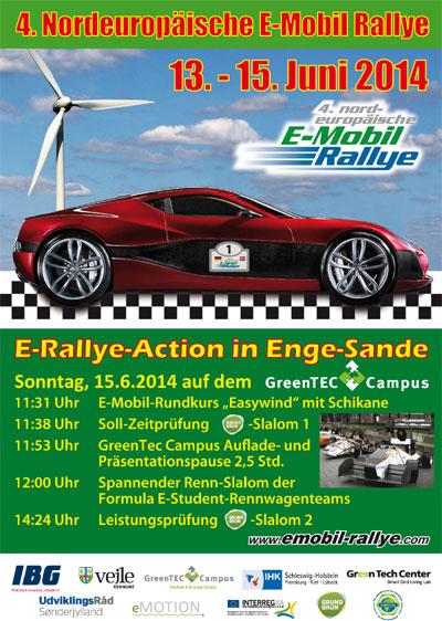4. Nordeuropäische E-Mobil-Rallye in Deutschland und Dänemark