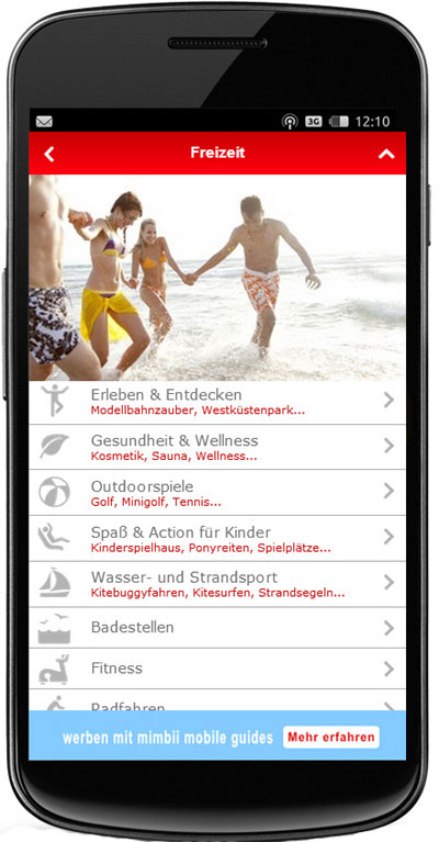Neue kostenlose St. Peter-Ording-App für iPhone und Android