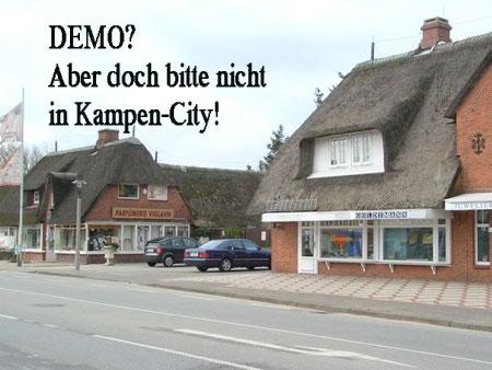 Bürgermeisterin Böhm – Demo der Linken im Kampener Zentrum nicht möglich