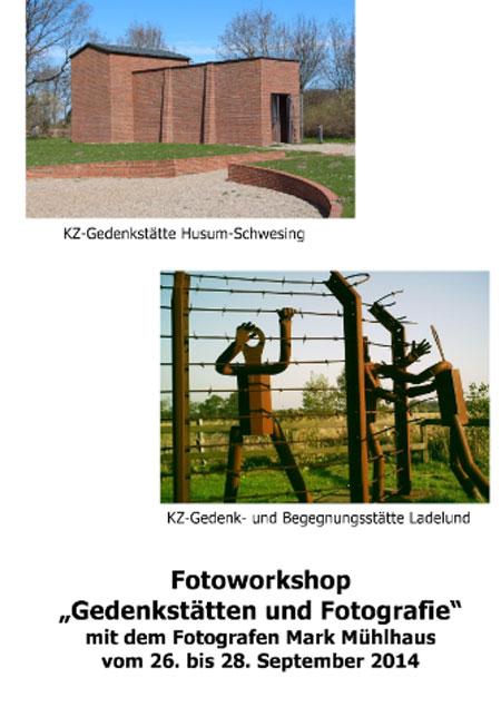 """Fotoworkshop für Jugendliche in Nordfriesland  """"Gedenkstätten und Fotografie"""""""