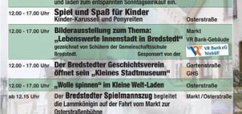 Verkaufsoffener Sonntag in Bredstedt – Lammkönigin wird erwartet