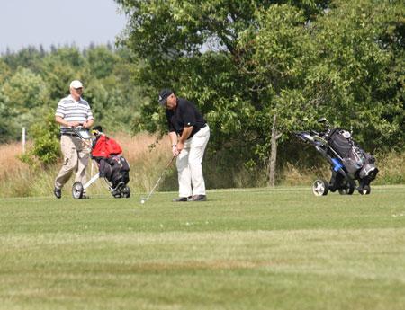 Glück beim Golfturnier in Husum – Der Regen kam später