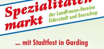 40. Spezialitätenmarkt und Stadtfest in Garding