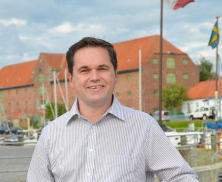 Christian Helm, Kandidat zur Bürgermeisterwahl in Tönning stellt sich vor