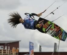 Stürmisches Freestyle-Finale am Ordinger Strand