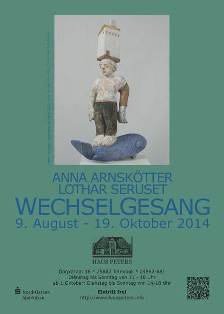 Tag des offenen Denkmals im Haus Peters Tetenbüll – Anna Arnskötter und Lothar Seruset kommen
