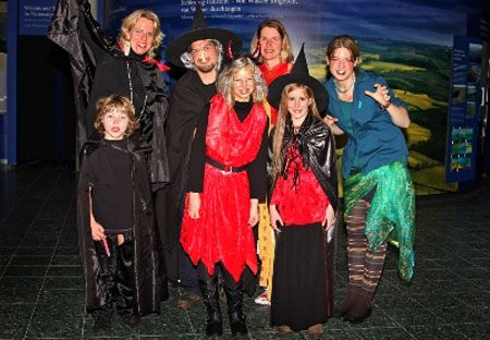 Halloween 2014: Gruselige Gesellen im Nationalpark-Zentrum Multimar Wattforum