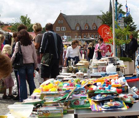 Bredstedt – Letzter Außenflohmarkt des Jahres