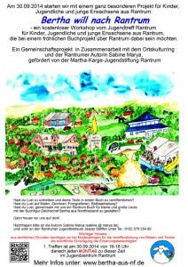 Plakat-Bertha-will-nach-Ran