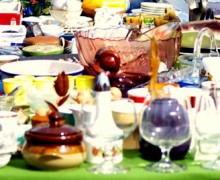 Flohmarktzeit in der Husumer Messehalle beginnt