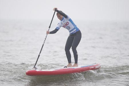 DAVIDOFF Cool Water Windsurf World Cup Sylt wurde die Reno SUP Challenge gestartet