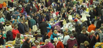 Flohmarktzeit in der Bredstedter BGS-Halle beginnt