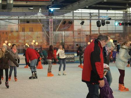 Spannendes Eisvergnügen – Weitere News zur Husumer Eiszeit 2014/15