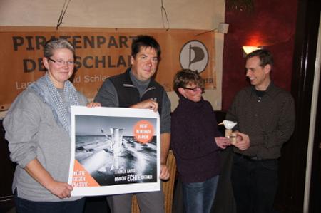 Küste gegen Plastik gewinnt Veränderungspreis Westküste 2014 – gestiftet von den PIRATEN