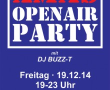 Xmas-OpenAir-Party in Bredstedt