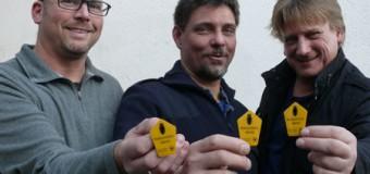 Neue Nationalparkwarte: Die drei vom Wattenmeer