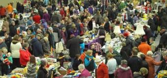Flohmarktzeit 2015 startet in der BGS-Halle