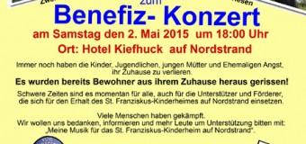Benefizkonzert: Meine Musik für das St. Franziskus-Kinderheim auf Nordstrand