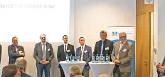 Expertenrunde mit Nordfrieslands Wirtschaft mehr als zufrieden