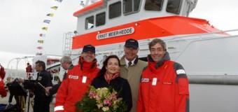 """Amrum: Seenotrettungskreuzer """"Ernst Meier-Hedde"""" wurde getauft"""