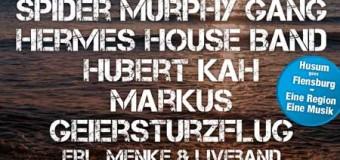 Kein Aprilscherz! Das Husum Open Air 2015 findet in einer Halle in Flensburg statt
