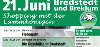 Verkaufsoffener Sonntag und Flohmarkt in Bredstedt