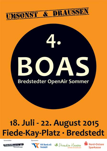 Das 4. BOAS: Bredstedter OpenAir Sommer 2015