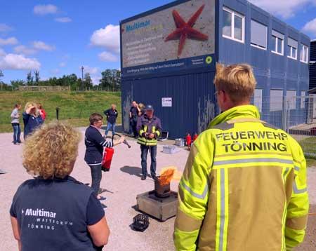 Multimar Wattforum gut gewappnet für den Brandfall