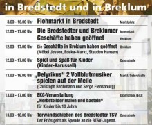 Verkaufsoffener Sonntag am 13. September in Bredstedt