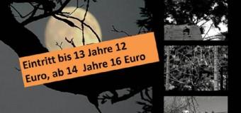 Halloweenparty im verfluchten Klettergarten in Leck