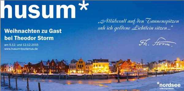 Weihnachten in Husum zu Gast bei Theodor Storm –  Literarisch und kulinarisch