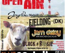 Das 2. Friesen-Open-Air startet am 23. Juli in Niebüll bei OBI